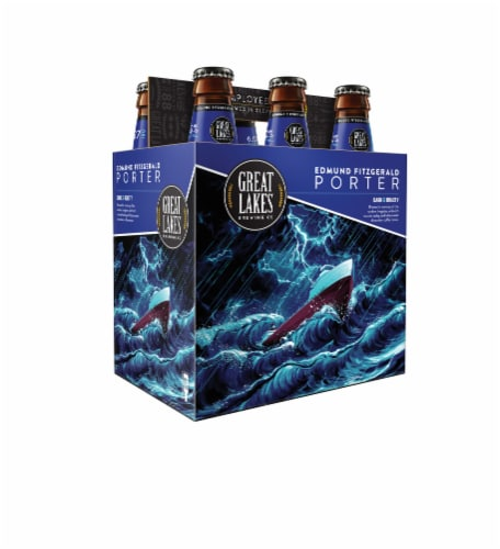 Great Lakes Brewing Co. Edmund Fitzgerald Porter Perspective: front