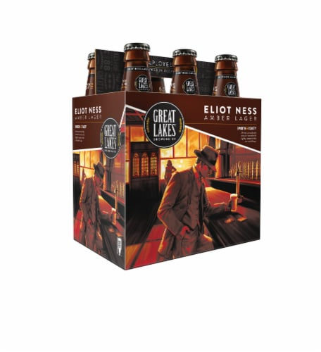 Great Lakes Brewing Co. Eliot Ness Amber Lager Perspective: front