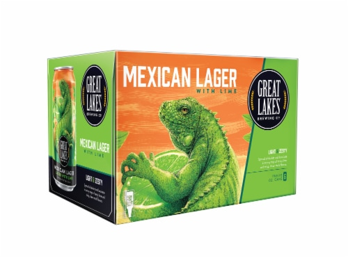 Great Lakes Brewing Co. Mexican Lager with Lime Perspective: front