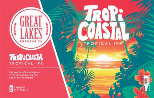 Great Lakes Breweing Co TropiCoastal Tropical IPA Perspective: front