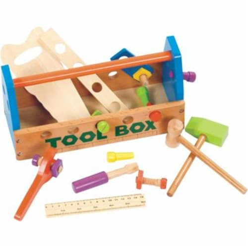 CHH Wooden Tool Box Perspective: front