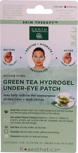 Earth Therapeutics Under-Eye Patches Perspective: front
