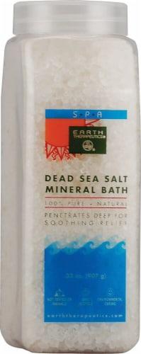 Earth Therapeutics  Dead Sea Salt Mineral Bath Perspective: front