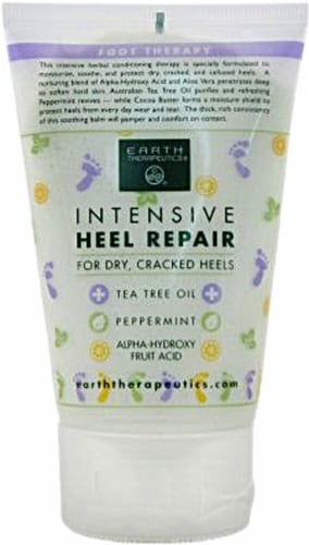 Earth Therapeutics  Intensive Heel Repair Perspective: front