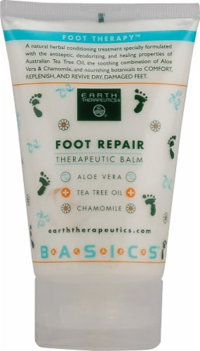 Earth Therapeutics  Foot Repair Therapeutic Balm Perspective: front