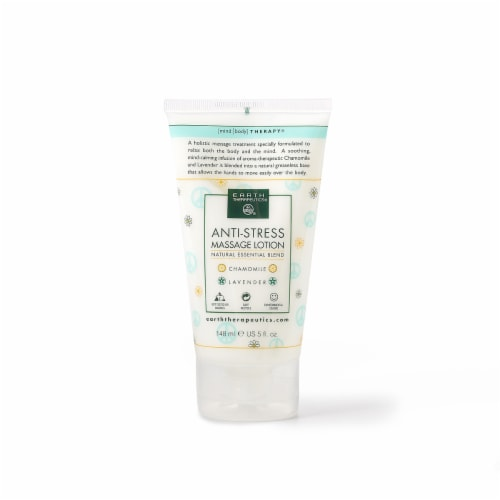 Earth Therapeutics Anti-Stress Massage Lotion Perspective: front