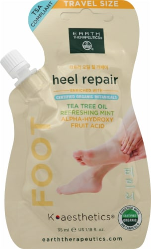 Earth Therapeutics Heel Repair Refreshing Mint Tea Tree Oil Perspective: front