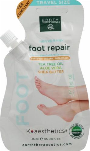 Earth Therapeutics Foot Repair Aloe Vera Shea Butter Tea Tree Oil Perspective: front