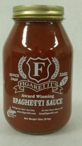 Figaretti's Spaghetti Sauce Perspective: front