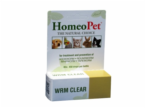 HomeoPet Worm Clear Perspective: front