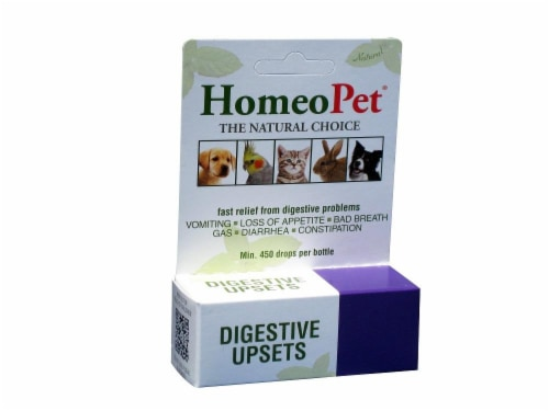 HomeoPet Digestive Upsets Perspective: front