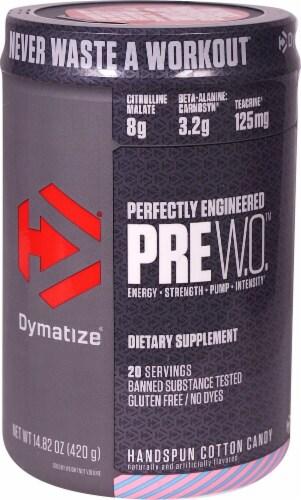 Pre W.O Pre-Workout - Cotton Candy (14.82 oz. / 20