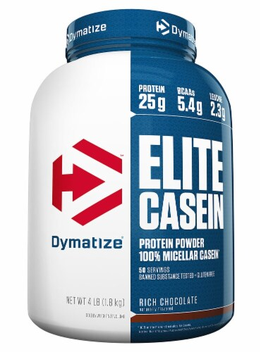 Dymatize  Elite Casein™   Rich Chocolate Perspective: front