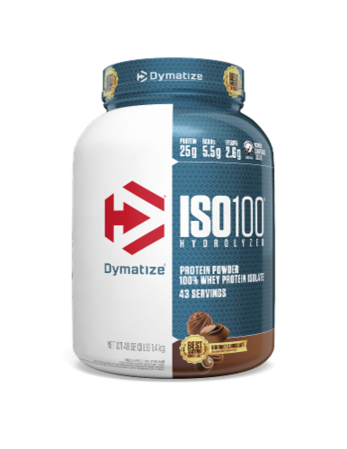 Dymatize Iso 100 Hydrolyzed 100 Whey Protein Isolate Gourmet Chocolate 3 Lbs Qfc