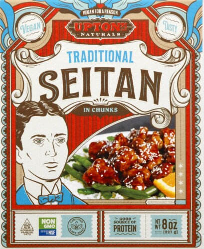 Upton's Naturals Traditional Seitan Perspective: front