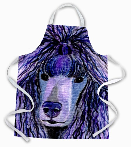 Carolines Treasures  SS8800APRON Poodle Apron Perspective: front