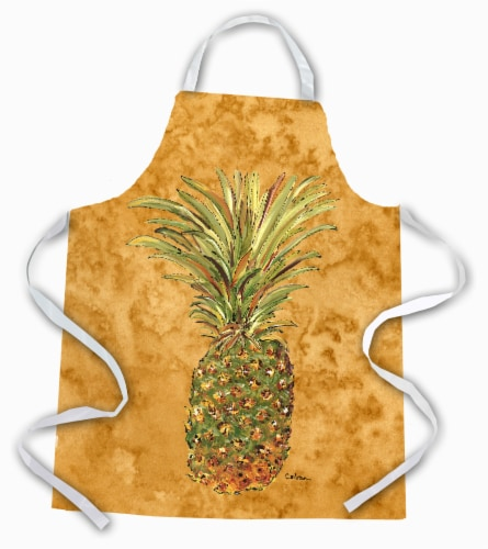 Carolines Treasures  8654APRON Pineapple  Apron Perspective: front