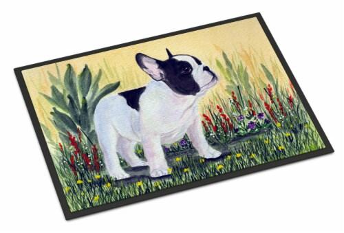 Carolines Treasures  SS8109MAT French Bulldog Indoor Outdoor Mat 18x27 Doormat Perspective: front