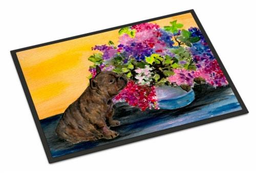 Carolines Treasures  SS8536MAT French Bulldog Indoor Outdoor Mat 18x27 Doormat Perspective: front