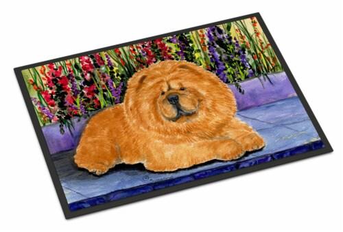 Carolines Treasures  SS8601MAT Chow Chow Indoor Outdoor Mat 18x27 Doormat Perspective: front