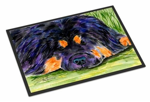 Carolines Treasures  SS8519JMAT Tibetan Mastiff Indoor or Outdoor Mat 24x36 Door Perspective: front