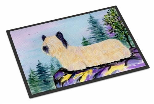 Carolines Treasures  SS8679JMAT Skye Terrier Indoor or Outdoor Mat 24x36 Doormat Perspective: front