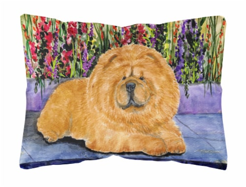 Carolines Treasures  SS8601PW1216 Chow Chow Decorative   Canvas Fabric Pillow Perspective: front