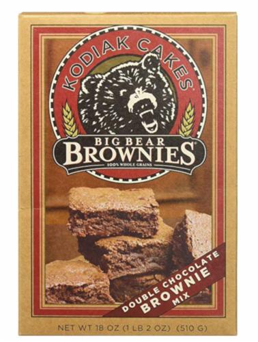 Kodiak Cakes Big Bear Brownie Mix Perspective: front