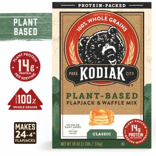 Kodiak Cakes Plant Based Pancake Mix Perspective: front