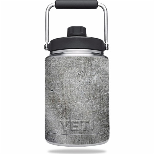 MightySkins GL-YERAMJUG-Scratched Up Glossy Glitter Skin for Yeti 0.5 gal Jug - Scratched Up Perspective: front