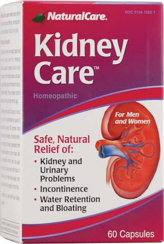 Natural Care Kidney Care™ Capsules Perspective: front