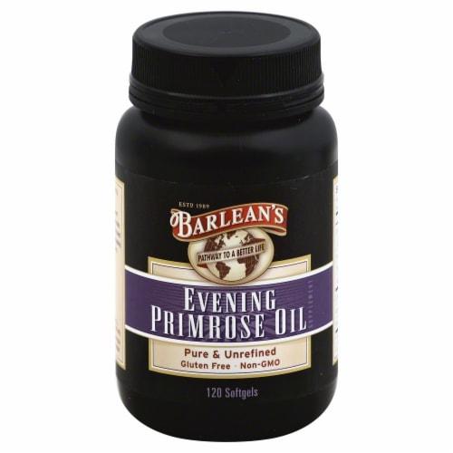 Barlean's Evening Primrose Oil Softgels Perspective: front