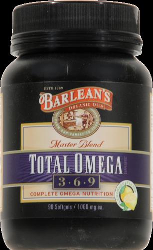 King Soopers Barlean S Total Omega 3 6 9 Fish Oil Caplets 90 Ct