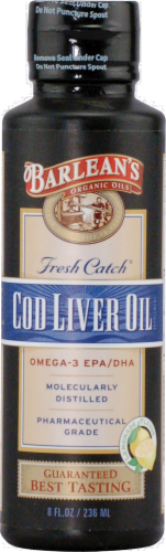 Barlean's Cod Liver Oil Perspective: front