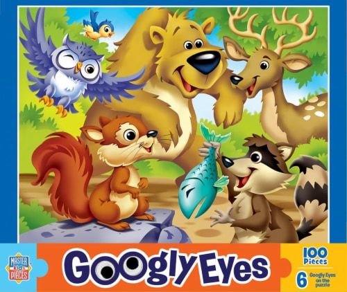 Woodlands Googly Eyes Jigsaw Puzzle Perspective: front