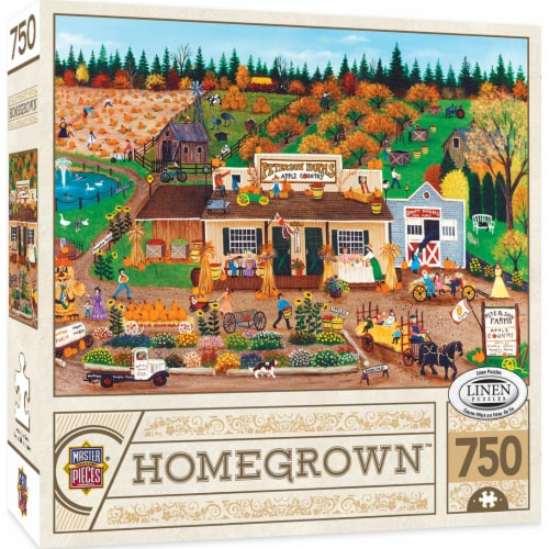 MasterPieces Homegrown Peterson Farms Puzzle Perspective: front