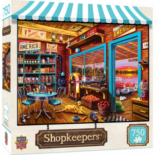 MasterPieces Shopkeepers Henry's General Store Puzzle Perspective: front