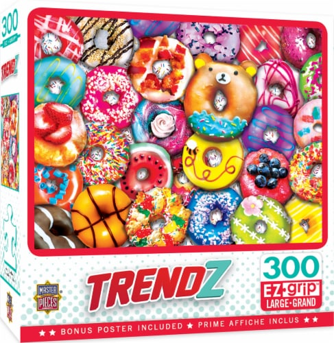 Master Pieces Trendz Collection Donut Resist Puzzle Perspective: front