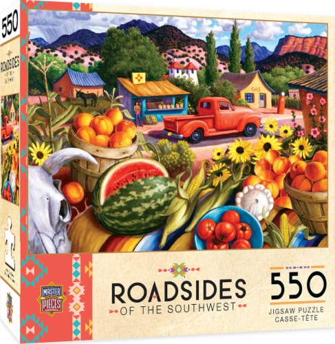 MasterPieces Roadsides of the Southwest Summer Fresh Puzzle Perspective: front
