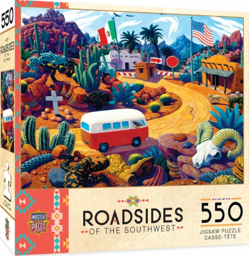 MasterPieces Roadsides of the Southwest Touring Time Puzzle Perspective: front