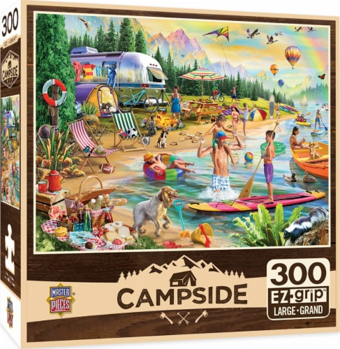 MasterPieces Campside Day at the Lake Puzzle Perspective: front
