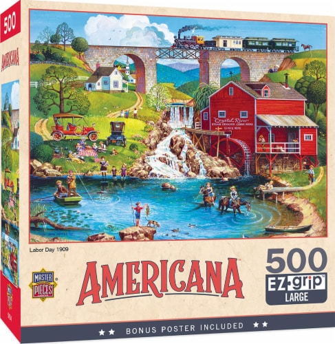 Labor Day 1909 500 Piece Jigsaw Puzzle Perspective: front