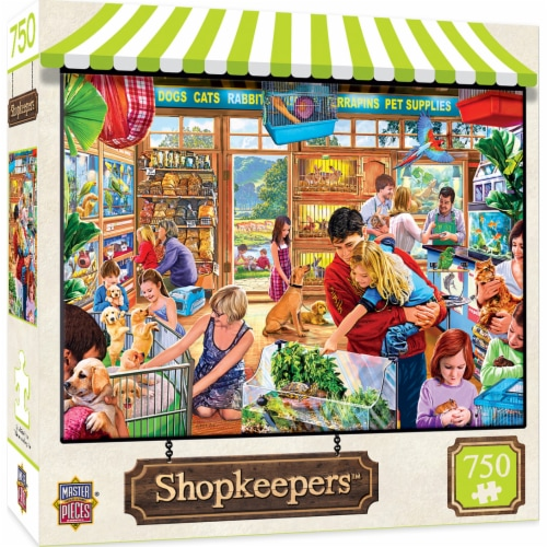 MasterPieces Shopkeepers Lucy's First Pet Puzzle Perspective: front