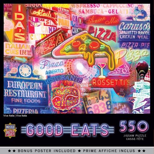 MasterPieces Viva Italia Good Eats Jigsaw Puzzle Perspective: front
