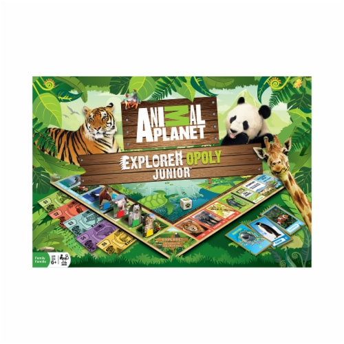 Masterpieces Animal Planet Explorer Opoly Junior Perspective: front