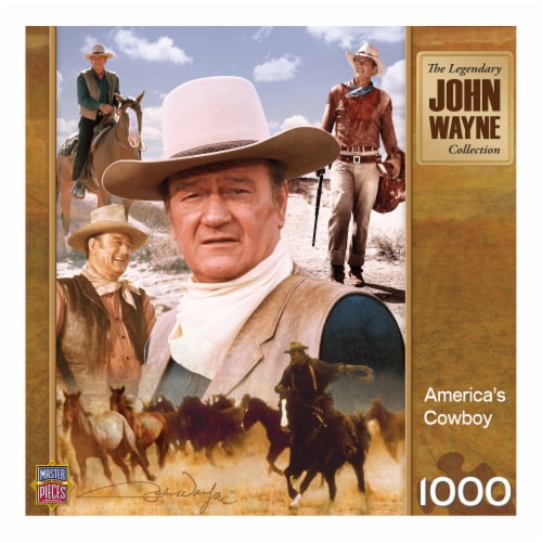 MasterPieces John Wayne Collection America's Cowboy Puzzle Perspective: front