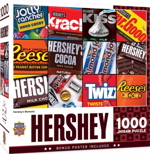 Hershey's Moments 1000 Piece Jigsaw Puzzle Perspective: front