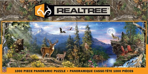 MasterPieces 1000 Piece Panoramic Puzzle - Realtree Perspective: front