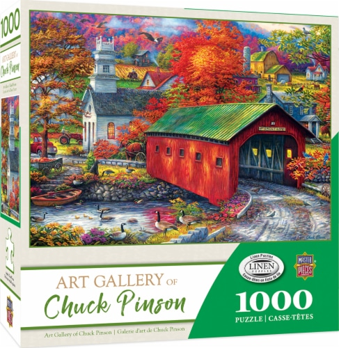 MasterPieces Art Gallery of Chuck Pinson The Sweet Life Puzzle Perspective: front