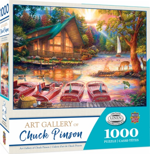 MasterPieces Art Gallery of Chuck Pinson Seize the Day Puzzle Perspective: front